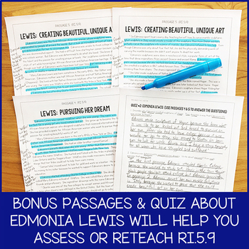 Lesson Pack for RI.5.9 (Reading Multiple Texts About a Topic)
