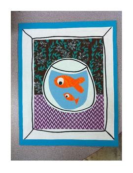 Lesson Plan: 1st Grade Matisse Gold Fish Collage
