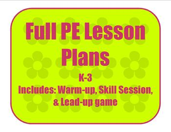 Lesson Plan 2 - Loco-motor skills
