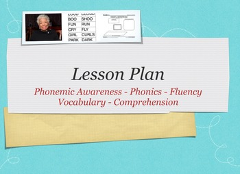 Five Components of Reading Lesson Plan