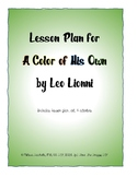 Lesson Plan: A Color of His Own