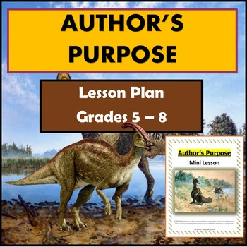 Lesson Plan: Author's Purpose