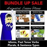 Lesson Plan BUNDLE: Animated PowerPoint Language Arts Less