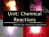 Lesson Plan: Balancing Chemical Equations