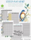 Lesson Plan Template - Blue Bird