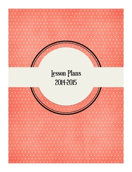 Lesson Plan Binder Cover '14-'15