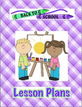 Lesson Plan Binder Cover (slips in binder)
