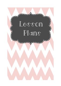 Lesson Plan Binder Pages Freebie