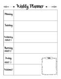Lesson Plan Blank Printable 2018-2019 School Calendar