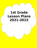 Customizable Lesson Plan Book (1st grade)