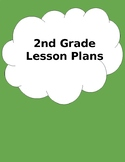 Customizable Lesson Plan Book (2nd Grade)