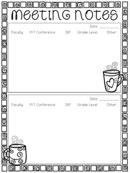 Lesson Plan Book {Chalkboard & Quatrefoil Theme}