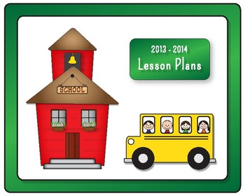 iPad Lesson Plan Book - Computer, Mobile, or Printable - 2013-2014 Dates are in!