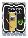Lesson Plan Book, Grade Book, and Calendar {EDITABLE}