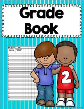 Lesson Plan Book (Striped Theme)