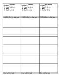 Lesson Plan Book Template
