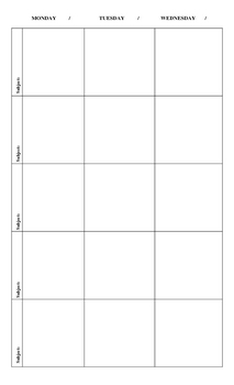 Lesson Plan Book with Dots