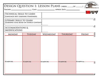 Lesson Plan Builder (digital copy)