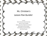 Lesson Plan Bundle