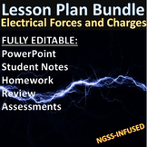 Lesson Plan Bundle: Electrical Forces, Charges, and Fields