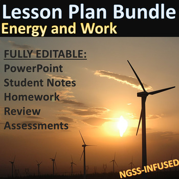Lesson Plan Bundle: Energy and Work