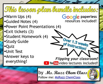 Lesson Plan Bundle: History and Trends Within the Periodic Table