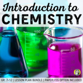 Lesson Plan Bundle: Introduction to Chemistry {Distance Learning}