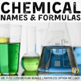 Lesson Plan Bundle: Naming & Formula Writing (Ionic & Molecular Compounds)