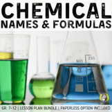 Lesson Plan Bundle: Naming & Formula Writing (Ionic & Molecular Compounds)