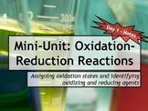 Lesson Plans: Oxidation-Reduction Reactions (Redox)