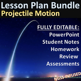 Lesson Plan Bundle: Projectile Motion