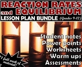 Lesson Plan Bundle: Reaction Rates and Equilibrium