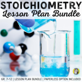 Lesson Plan Bundle: Stoichiometry {Distance Learning}