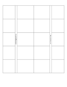 Lesson Plan Chart Template