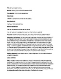 Lesson Plan- Compare and Contrast Suitable for LF Schools