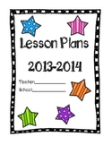 Lesson Plan Cover 2013-2014