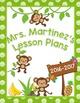 Lesson Plan Cover Freebie