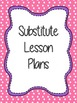 Lesson Plan Cover Pages