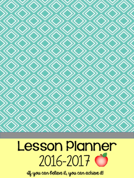 Lesson Plan Covers and Motivation Cards
