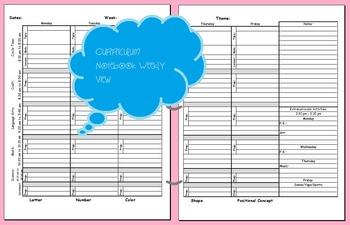 Lesson Plan, Curriculum Notebook, Teacher Planner