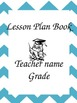 Lesson Plan - Data Notebook - Chevron Print Covers