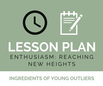 Lesson Plan: Enthusiasm Close Read