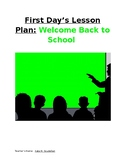 Lesson Plan - First Day of School: Intro, Guidelines, Procedures (Any Subject)