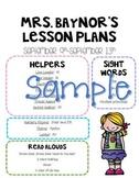 Lesson Plan Format (Editable)
