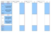 Lesson Plan Goal and Data Sheets for Speech Therapy and others!