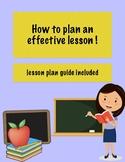 Lesson Plan Guide