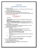 Lesson Plan Guidelines