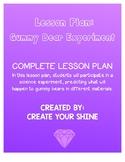 Lesson Plan: Gummy Bear Experiment