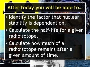 Lesson Plan: Half-Life