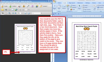 Lesson Plan: Hispanic Activity Books for Elementary Students